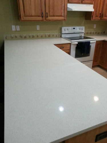 Celeste white quartz kitchen countertop cheapest house What is the whitest quartz countertop